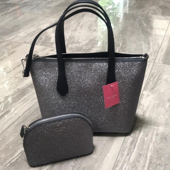 kate spade Handbags - 🧞♂️ Kate Spade satchel crossbody + cosmetic SET